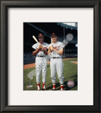 Frank Robinson and Brooks Robinson COLOR