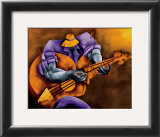 Blues Time Framed Art Print