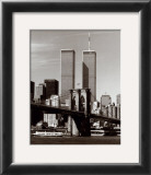World Trade Center and Brooklyn Bridge