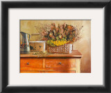 Flowers on Gramma's Sideboard III