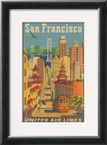 United Airlines: San Francisco, c.1950