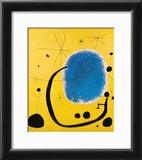 L'Oro dell' Azzurro Framed Art Print