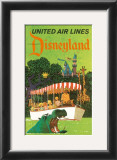 United Airlines: Disneyland in Anaheim, California, c.1960's