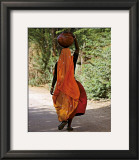 Woman Carrying a Jar, India