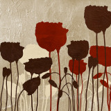 Floral Simplicity V (red)