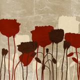 Floral Simplicity VI (red)
