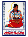 Blackfeet Indian Maiden