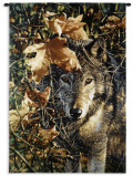 Autumn Eyes Wall Tapestry