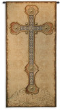 Antique Cross Wall Tapestry