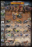 Motocross MX The Modern Era 1970 - present Poster