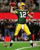 Aaron Rodgers Action from Super Bowl XLV (#18)