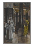 Buy The Pharisee and the Publican, Illustration from 'The Life of Our Lord Jesus Christ', 1886-94 at AllPosters.com