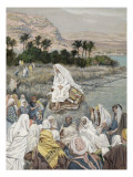 Buy Jesus Preaching by the Seashore, Illustration for 'The Life of Christ', C.1886-96 at AllPosters.com