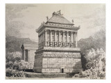 The Mausoleum of Halicarnassus, from a Series of the 'seven Wonders of the Ancient World'. 1886