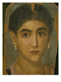 Female Mummy Portrait, from Thebes, 2nd Century