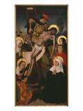 Passion Triptych, the Descent from the Cross, Right Panel