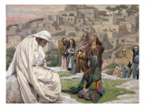 Buy Jesus Wept, Illustration for 'The Life of Christ', C.1886-96 at AllPosters.com