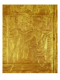 Detail from the Golden Shrine, from the Tomb of Tutankhamun