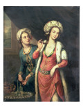 Portrait of a Lady Thought to Be Lady Mary Wortley Montagu