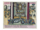 Abjuration of Henri Iv and Conversion to Catholicism at St. Denis on 15th July 1593