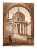 Buy San Pietro in Montorio, the Site of St. Peter's Martyrdom, 1833 at AllPosters.com