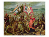 Allegory of the Turkish Wars: the Battle of Kronstadt Giclee Print