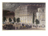 View of the Boulevard Des Italiens, Engraved by E. Radclyffe, C.1840-50