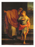 Jacob Sending His Son, Joseph, to Look for His Brothers at Sichem