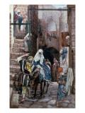 Buy St. Joseph Seeks Lodging in Bethlehem, Illustration for 'The Life of Christ', C.1886-94 at AllPosters.com