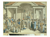 Health Community at the Karlsbader Fountain, 1810