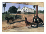 Ella's Hotel, Richfield Center, 1885 Giclee Print