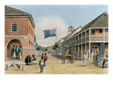 View of Harbour Street, Kingston, Jamaica