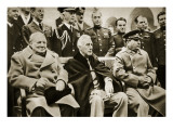 The 'Big Three' at the Yalta Conference