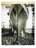 The Launching of the Rms Mauretania, 28th July 1938