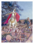 Hiram, the Phoenician King of Tyre Giclee Print