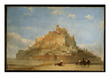 Mont St. Michel from the Sands, 1848