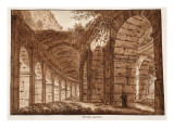 Buy The Top Storey of the Colosseum, 1833 at AllPosters.com