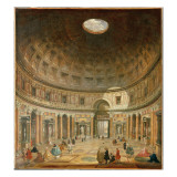 The Interior of the Pantheon, Rome