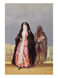Veiled Women, from 'souvenir of Cairo', 1862