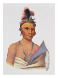 Keesheswa or 'The Sun', a Fox Chief, C.1837