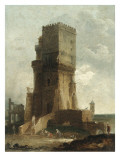 A Capriccio of the Tower of Benevento