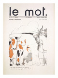 Front Cover of 'Le Mot', January 1915