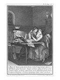 Heloise and Abelard in their Study