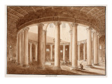 Buy Santo Stefano Rotondo, 1833 at AllPosters.com