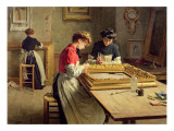 Interior of a Frame Gilding Workshop
