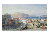 Naples, 19th Century; Watercolour;