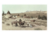 Indian Encampment, 1892