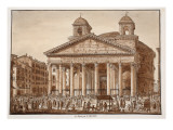 Buy The Pantheon of Agrippa, 1833 at AllPosters.com