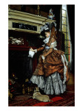 Buy La Cheminee, 1869 at AllPosters.com
