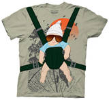 The Hangover - Baby Bjorn Costume Tee T-Shirt
